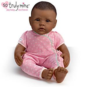 So Truly Mine Doll: Black Hair, Brown Eyes, African-American