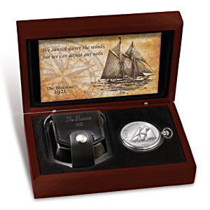 """The Bluenose"" Men's Pocket Watch"