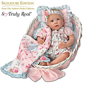 "Linda Murray ""Gabby Rose"" Lifelike Baby Doll and Accessories"