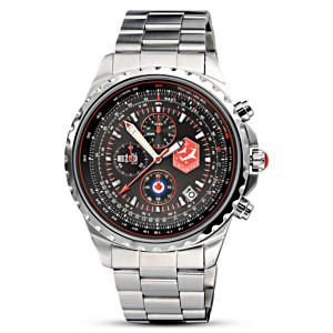 """The Snowbirds"" Men's Chronograph Canadian Pride Watch"
