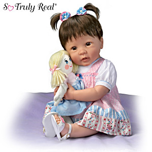 """Linda Murray """"Molly And Rags"""" Pull String Baby Doll"""