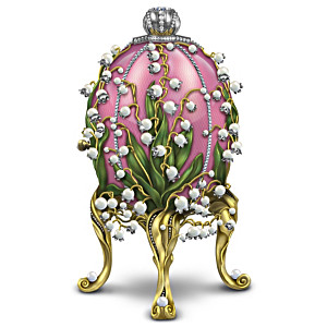 Lilies Of The Valley Figurine Inspired By Peter Carl Faberge