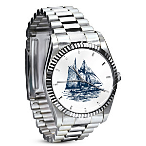 """Bluenose"" Men's Watch Tribute To Legendary Canadian Ship"