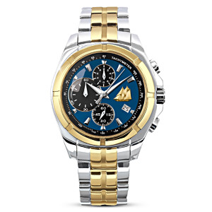 """The Bluenose"" Stainless-Steel Men's Chronograph Watch"