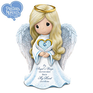 "Precious Moments ""Memories Of Love"" Guardian Angel Figurine"