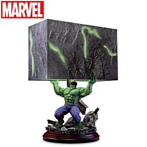 """HULK Smash"" Sculpture Table Lamp"