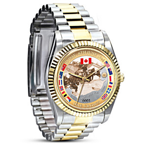 Remembering Canada's Finest Commemorative D-Day Men's Watch
