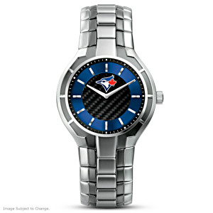 Toronto Blue Jays Carbon Fibre Men's Watch