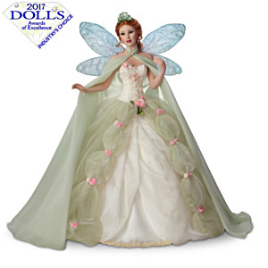 "Sandra Bilotto ""Titania Queen Of the Fairies"" Porcelain Doll"