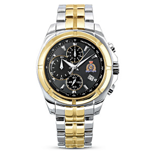"""""""Pride In The RCMP"""" Men's Chronograph Watch"""