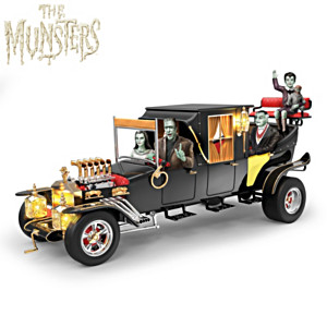 """""""The Munsters Family Koach"""" Illuminated Musical Sculpture"""