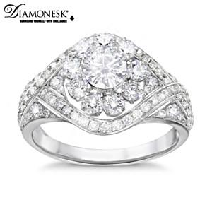 Meghan Markle Royal Wedding Tiara-Inspired Diamonesk Ring