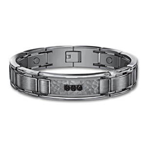 Strength, Courage, Wisdom Stainless Steel Magnetic Bracelet