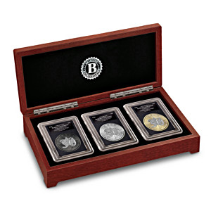 30th Anniversary Canadian Silver Maple Leaf 3-Coin Set