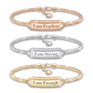 """I Am"" 3-Piece Bracelet Set Celebrates Women Empowerment"