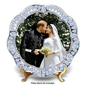 Prince Harry & Meghan Markle Wedding Commemorative Plate