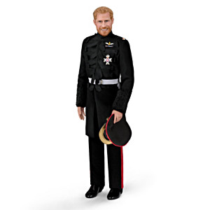 The Prince Harry Royal Wedding Porcelain Groom Doll