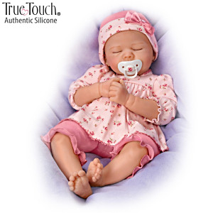 "Marissa May ""Pleasant Dreams, Penelope"" Silicone Baby Doll"