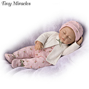Tiny Miracles Sleepytime Sophie Lifelike Toy Doll
