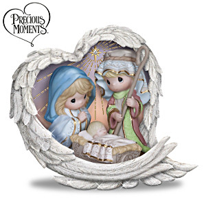 "Precious Moments ""Heavenly Blessings"" Nativity Figurine"