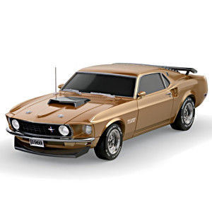 """1:24-Scale """"1969 Ford Mustang Boss 429"""" Car Sculpture"""