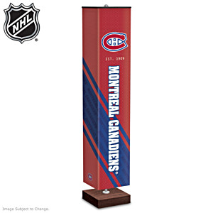 Montreal Canadiens® Four-Sided Floor Lamp