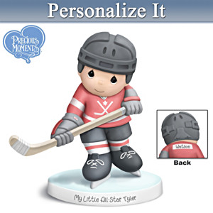 """Precious Moments """"My Little All-Star"""" Personalized Figurine"""