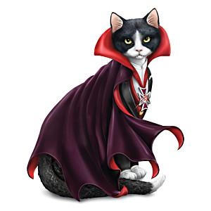 """Blake Jensen """"Count Cat-ula"""" Vampire Cat Figurine"""