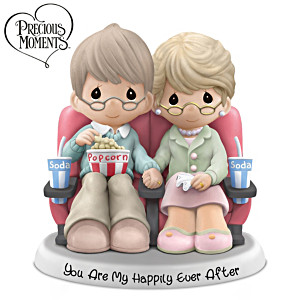 "Precious Moments ""You Are My Happily Ever After"" Figurine"