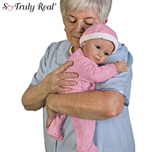 Realistic Comfort Therapy Doll For Memory Care Individuals
