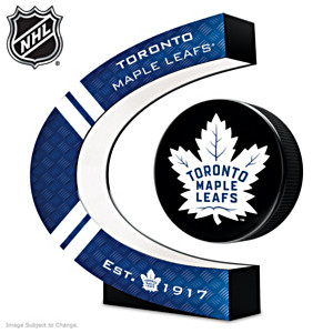 Toronto Maple Leafs® Levitating Puck With Lighted Base