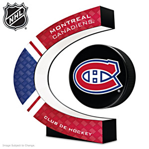 Montreal Canadiens® Levitating Puck With Lighted Base