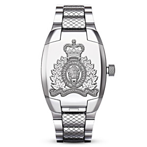 RCMP Quartz Movement Men's Watch With Unique Flip Cover
