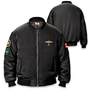 Dambusters Flight Jacket With Patches And Custom Embroidery