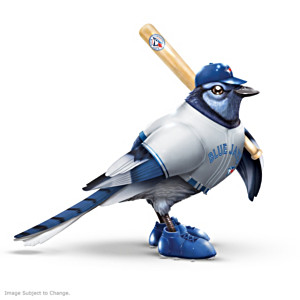 "Toronto Blue Jays ""Pinch Hitter"" Hand-Cast Bird Figurine"