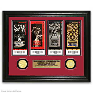 Raptors 2019 NBA Championship Commemorative Photo Mint