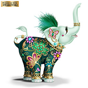 "Margaret Le Van ""Lucky In Love"" Elephant Figurine"