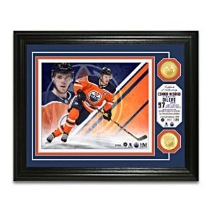Connor McDavid Oilers® Photo Mint