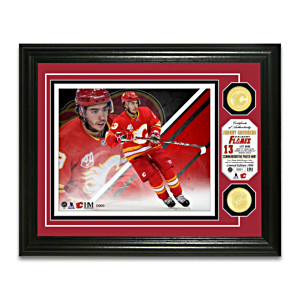Johnny Gaudreau Flames® Photo Mint