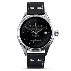 The Lancaster Bomber Watch With Authentic Blueprint Artwork
