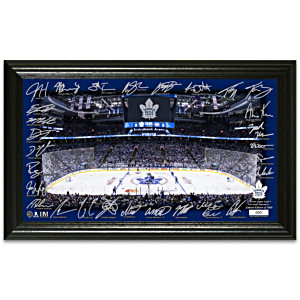 Toronto Maple Leafs® Rink Photo Mint