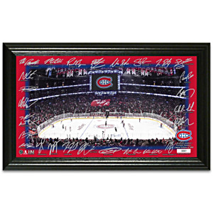 Montreal Canadiens® Rink Photo Mint