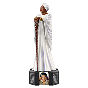 Dr. Maya Angelou Tribute Figurine With Inspirational Quotes