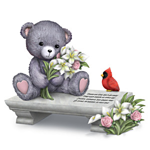 "Faithful Fuzzies ""A Love So Dear"" Remembrance Figurine"