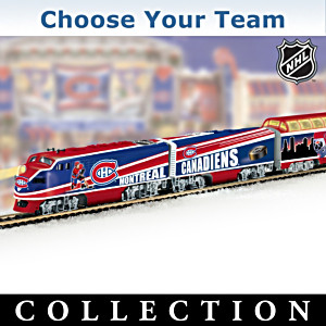 """Choose Your Team"" NHL® Illuminated Electric Train"