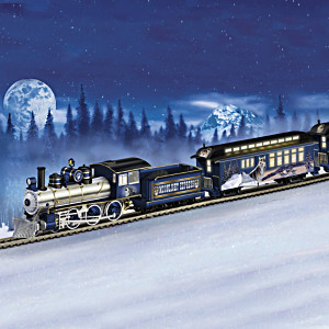 """Al Agnew Wolf Art Express"" Electric Train Collection"