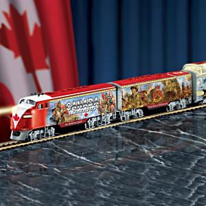 """Canada Remembers Express"" Illuminated Electric Train"