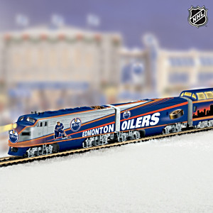 """Edmonton Oilers® Express"" Illuminated Electric Train"