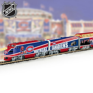 """""""Montreal Canadiens® Express"""" Illuminated Electric Train"""