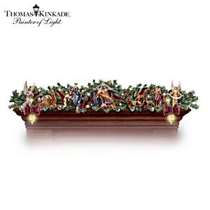 "Thomas Kinkade Illuminated ""Nativity Story"" Garland"